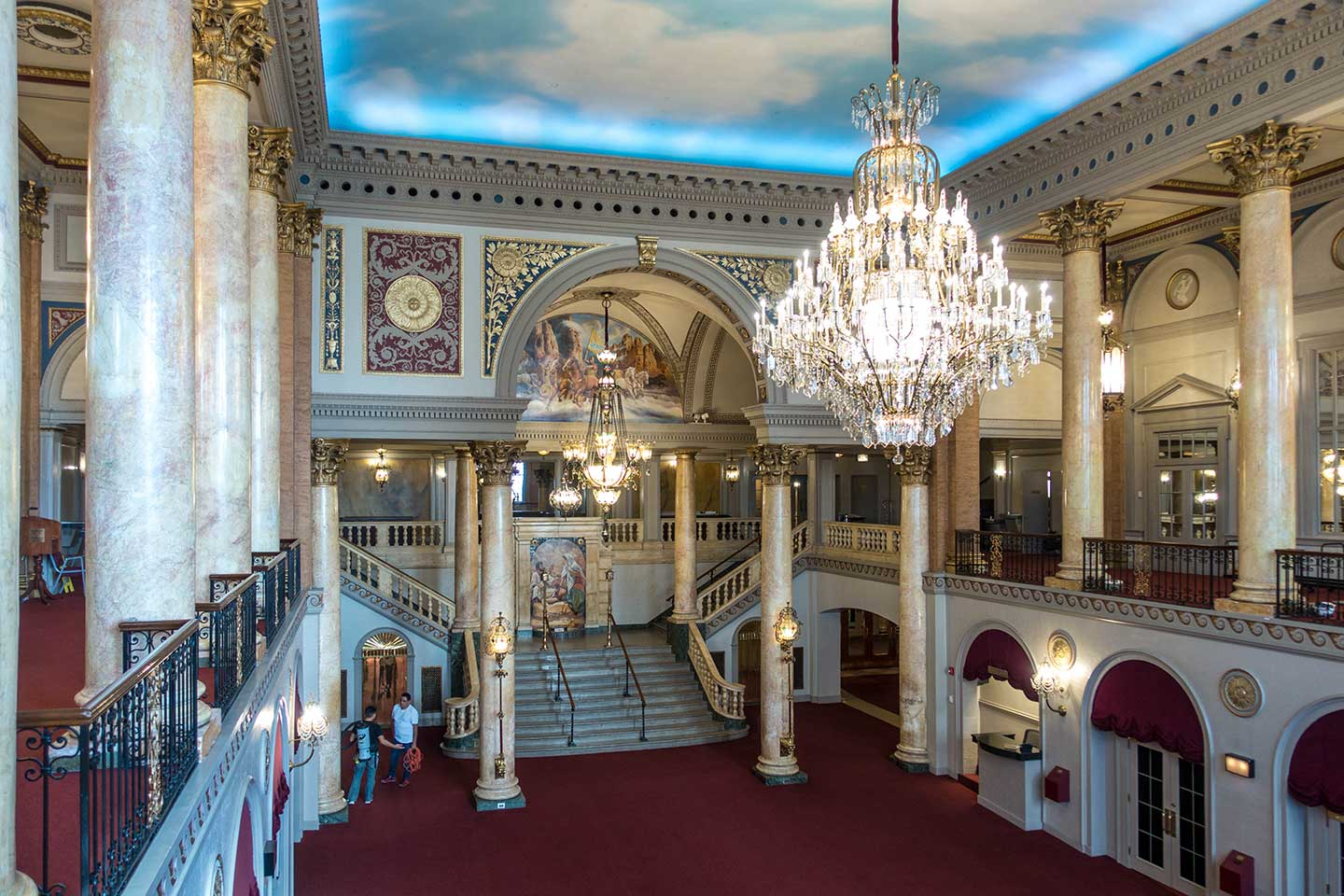 stanley theater journal square lobby