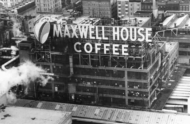 Maxwell House Sign Hoboken