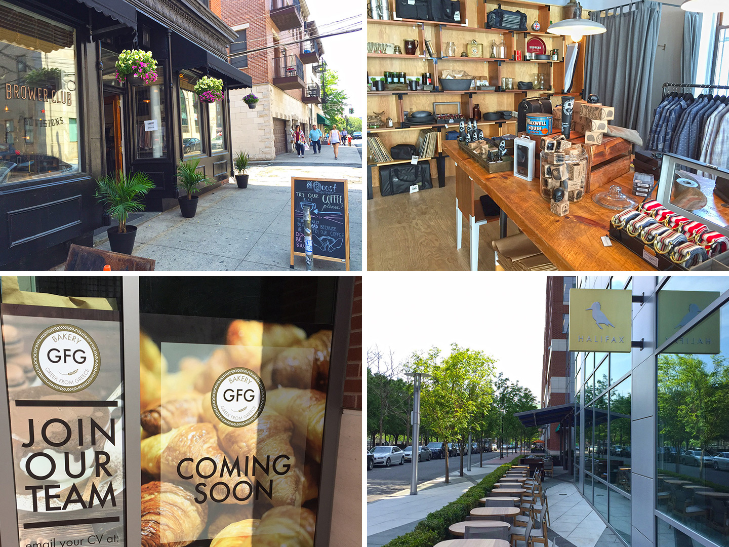 Retail roundup new restaurants more coffee in the mile for Table 52 restaurant week menu 2013