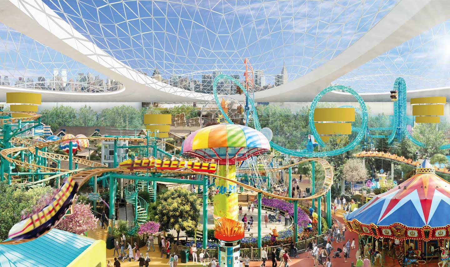 nickelodeon universe theme-park-new jersey american dream 2