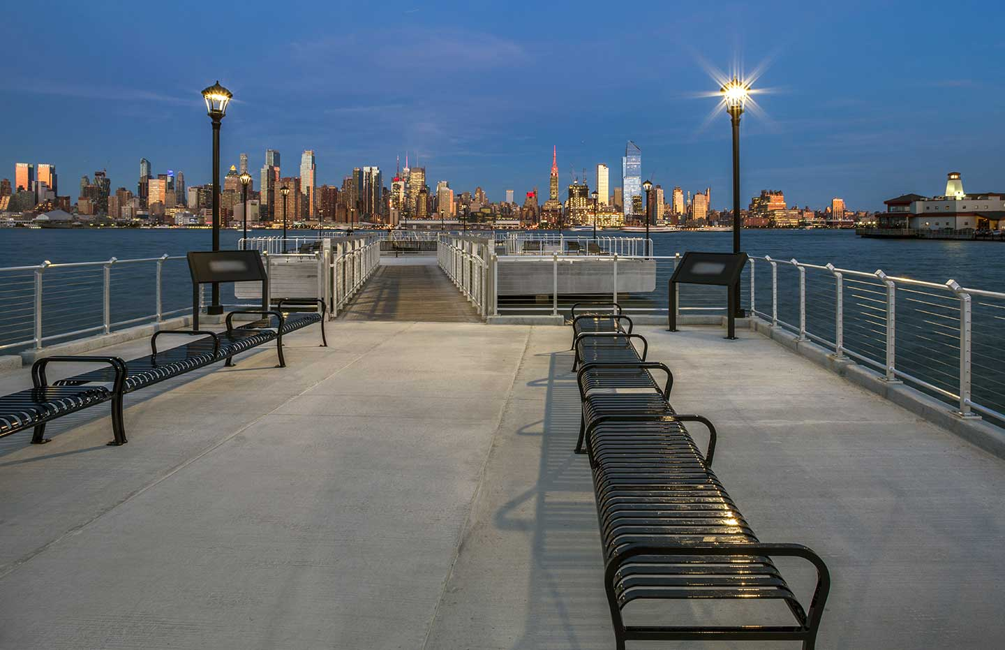 Weehawken's Lincoln Harbor Has a Brand New Waterfront Attraction | Jersey Digs