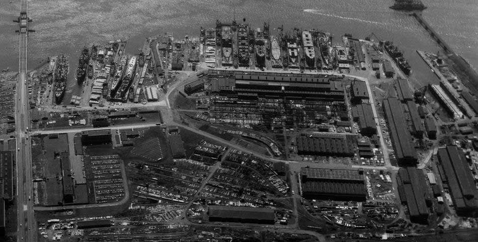 federal shipbuilding and dry dock company kearny nj 1945