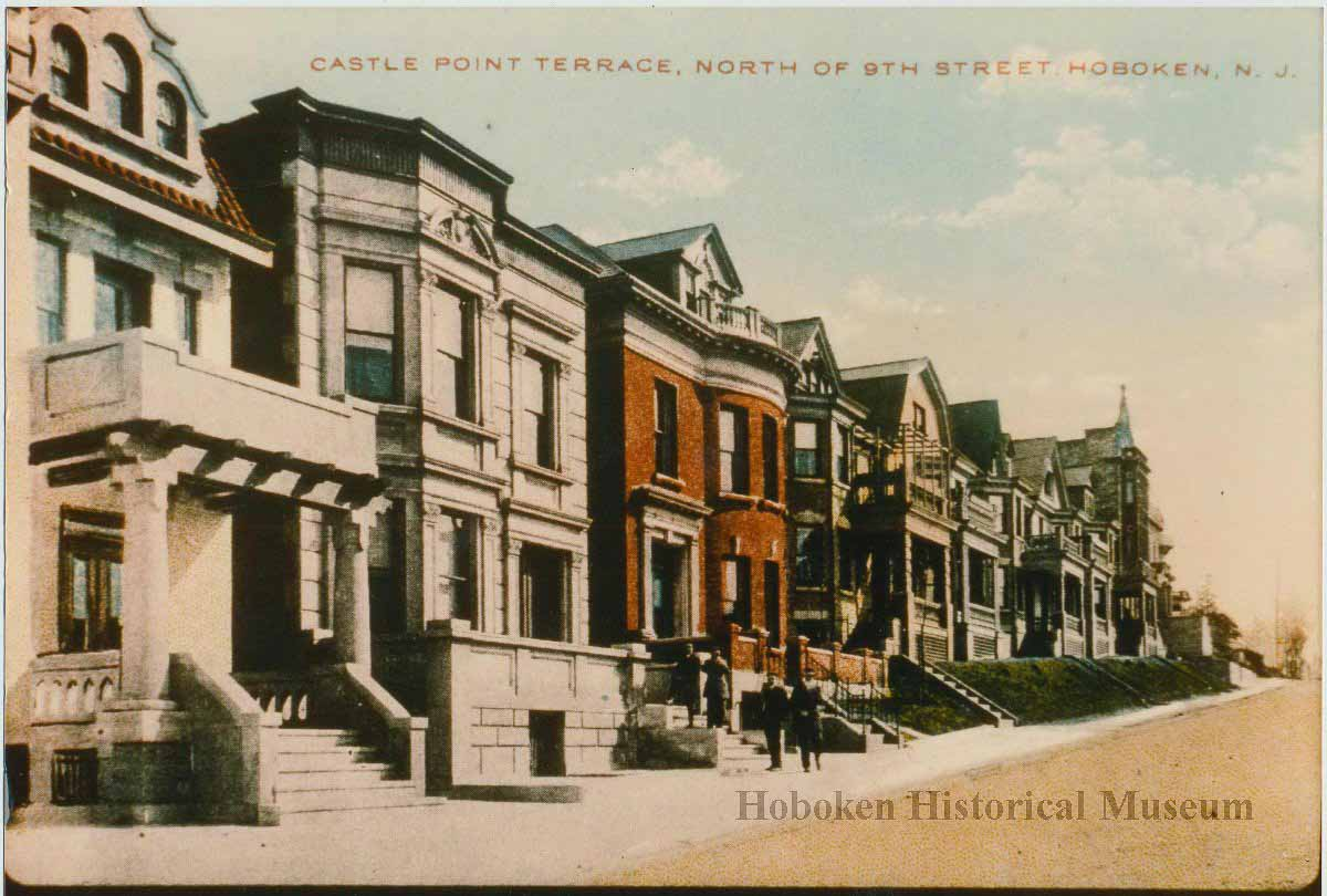 castle point terrace hoboken historical
