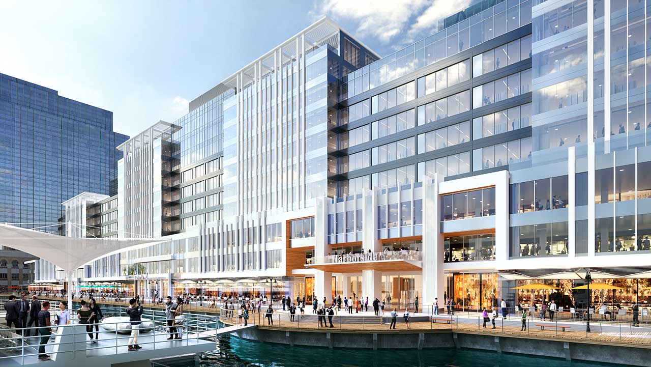 harborside terminal downtown jersey city rendering 2