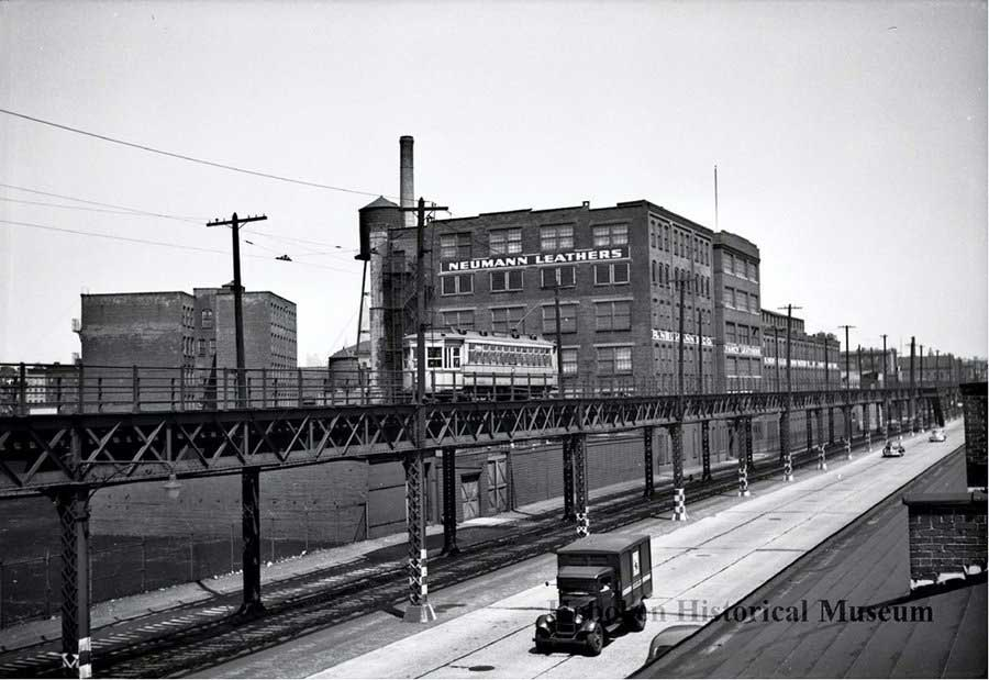 Elevated Track Ferry Street
