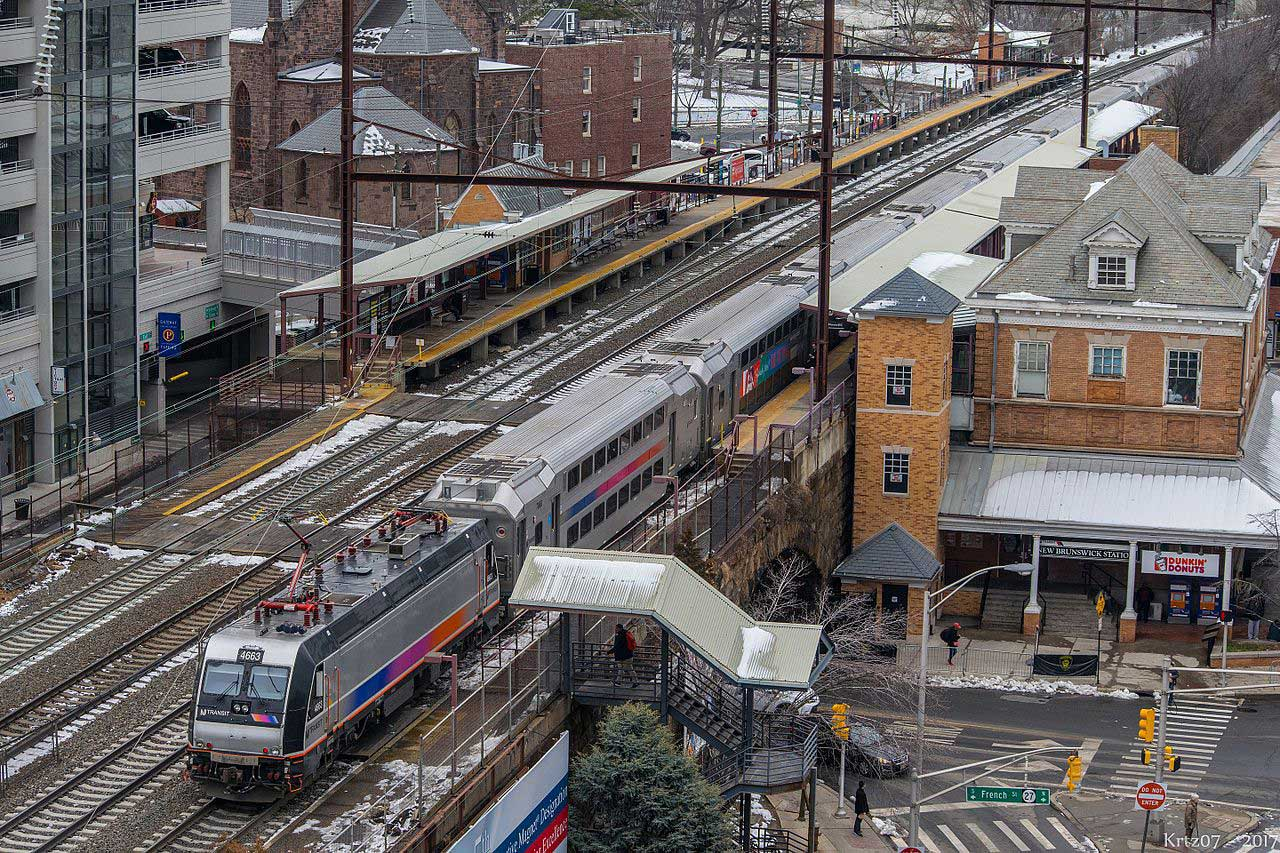 New Jersey Transit Train Feb 2017