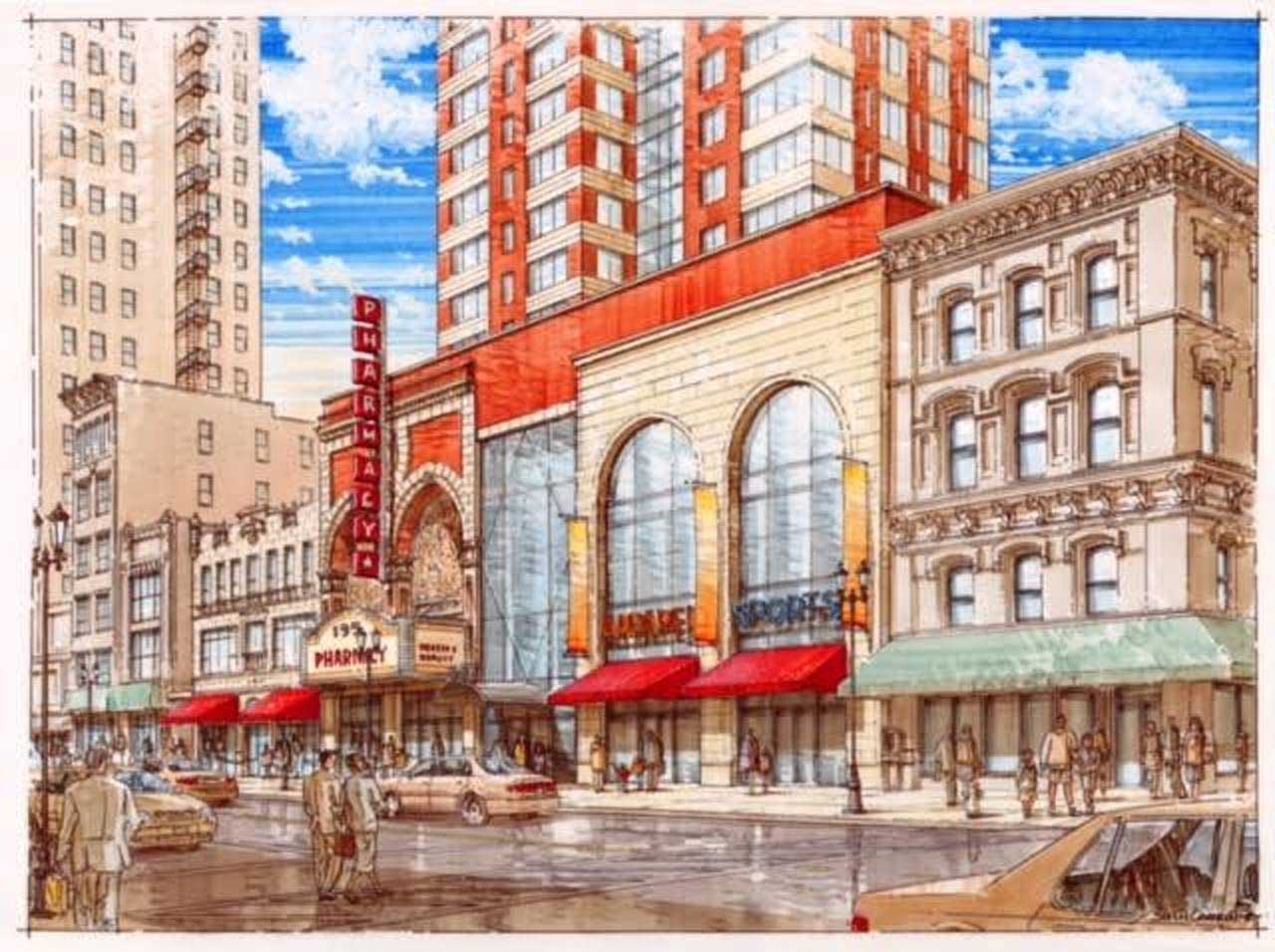 Paramount Theater Development Plan Newark