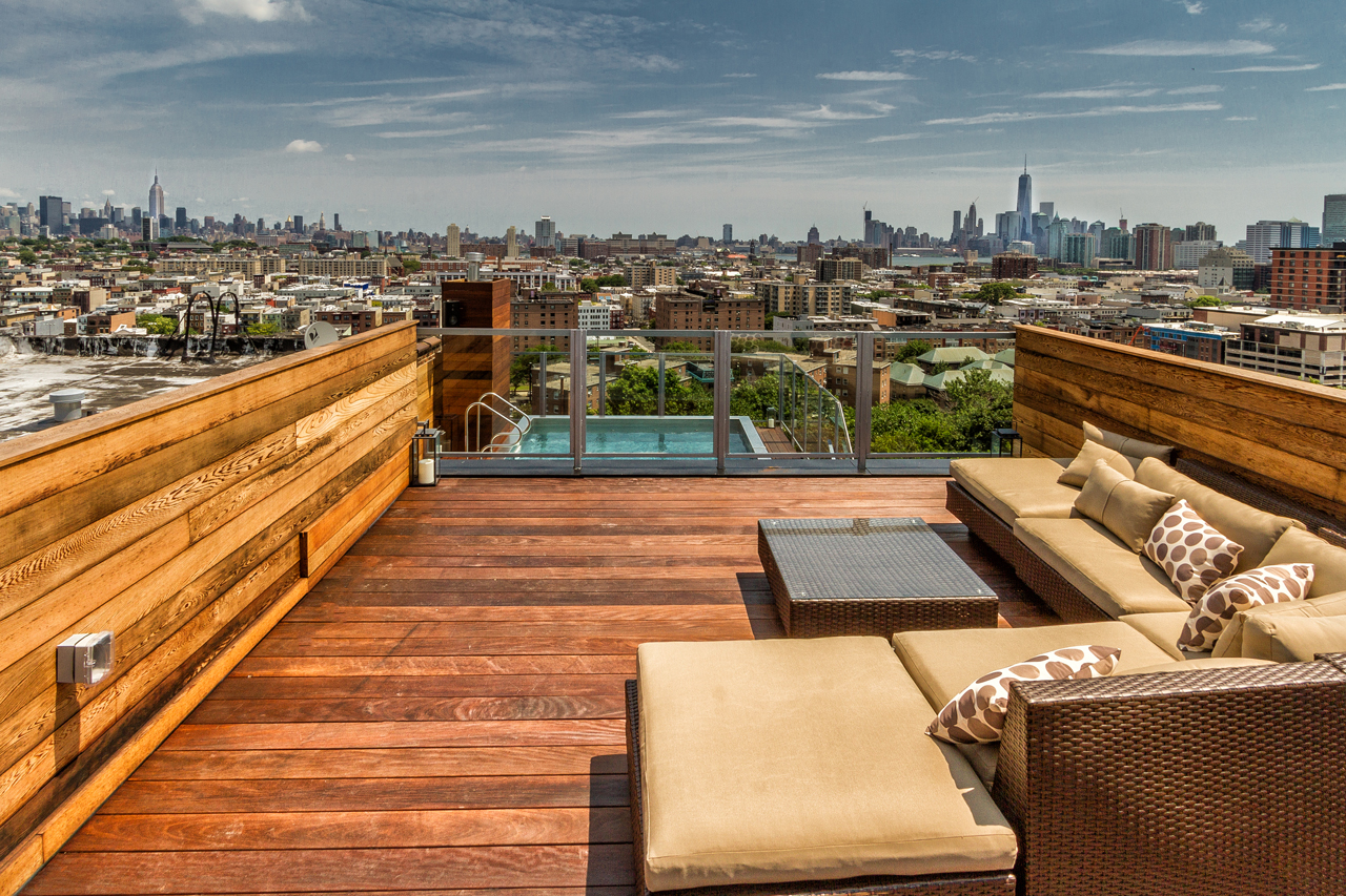 272 Ogden Avenue The Heights Jersey City Roof Deck