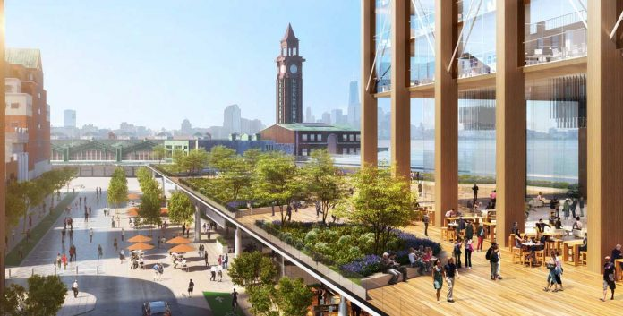 Hoboken Yard Redevelopment Plan 1