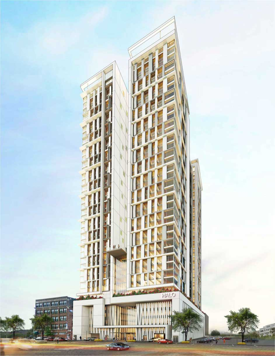 Halo Tower Rendering Washington Street Newark