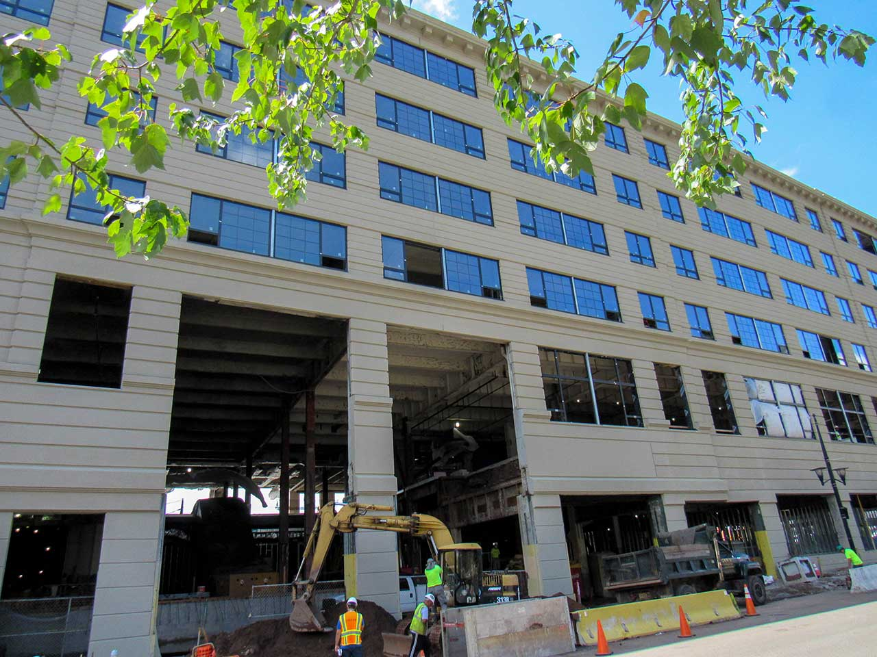 Ironside Newark Construction Progress Exterior
