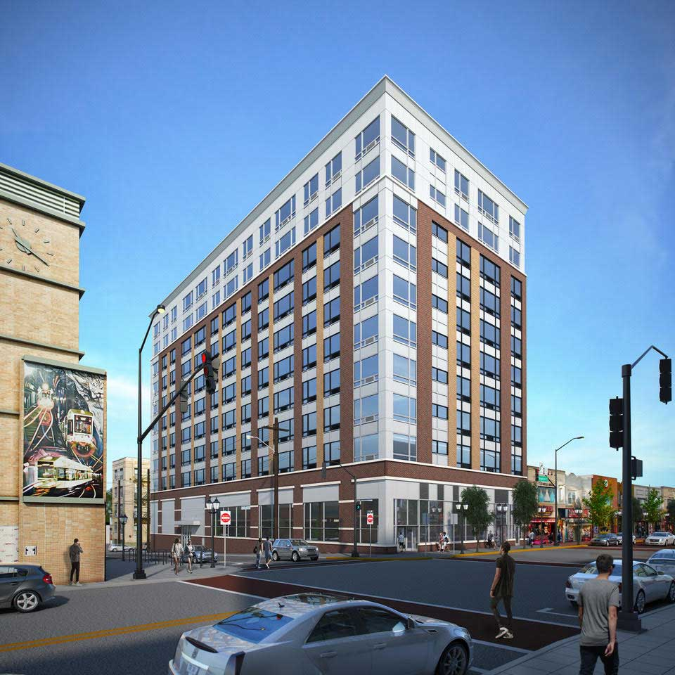 10-Story Apartment Building Planned For Bergenline Avenue