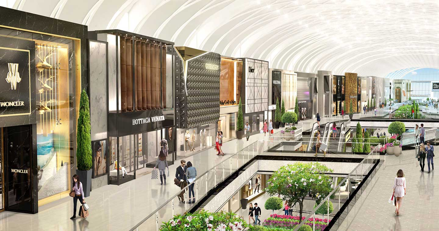 American Dream Meadowlands Interior Renderings Opening Date