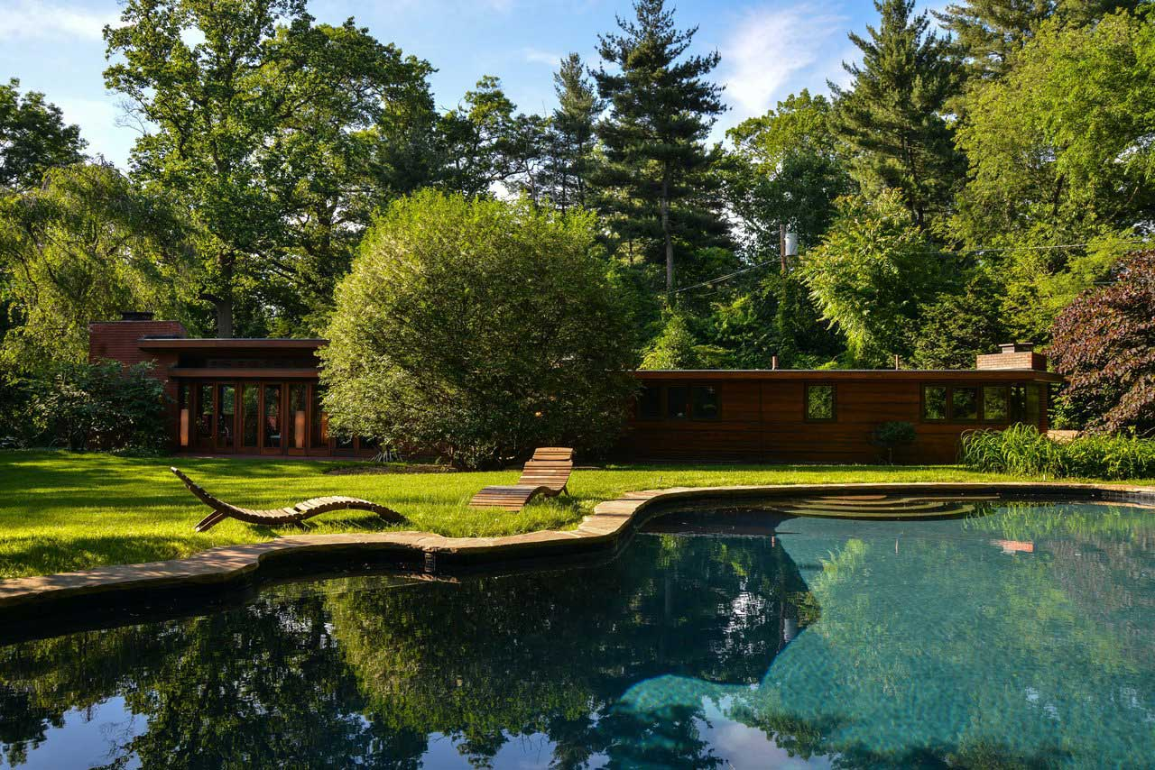 Lloyd Frank Wright Houses closest frank lloyd wright house to nyc hits the market