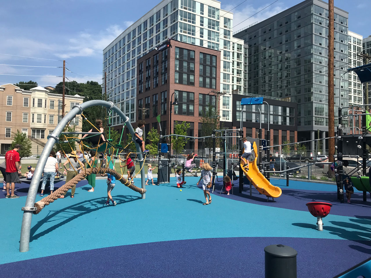New Park At 7th And Jackson Streets Hoboken 1