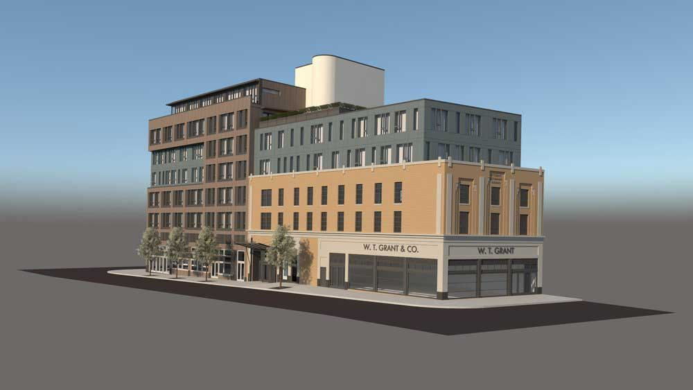 Barcade Development 165 Newark Ave Jersey City Rendering