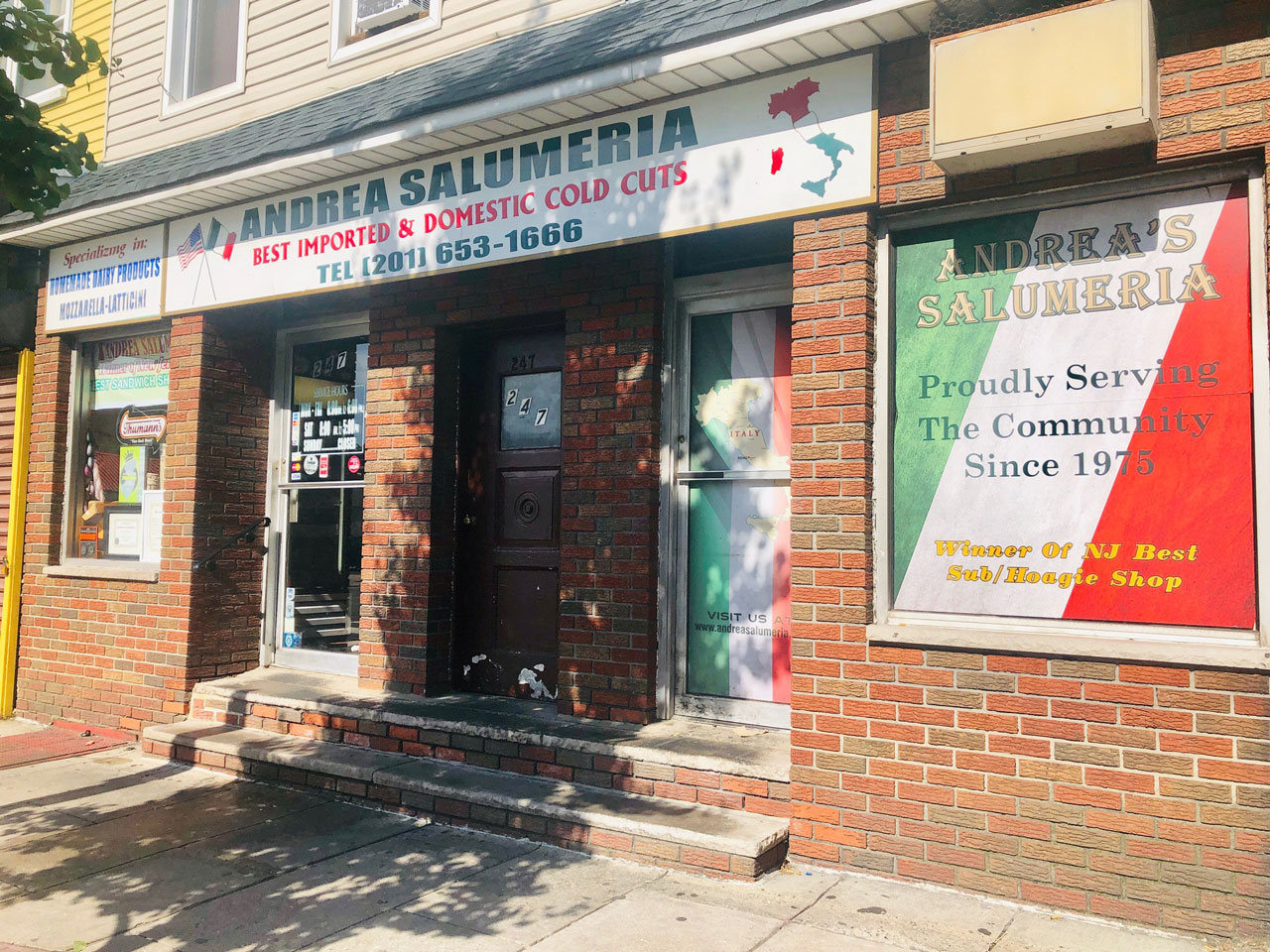 Andrea Salumeria 247 Central Avenue Jersey City Heights 1