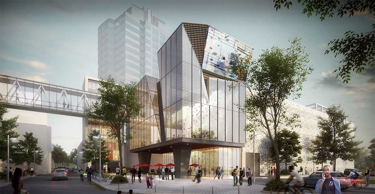 New Jersey Performing Arts Center Development Project Newark