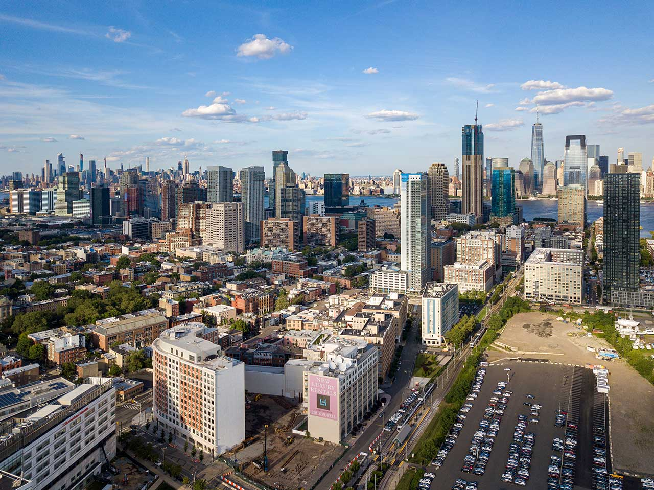 Jersey City Development Adds Units Manhattan