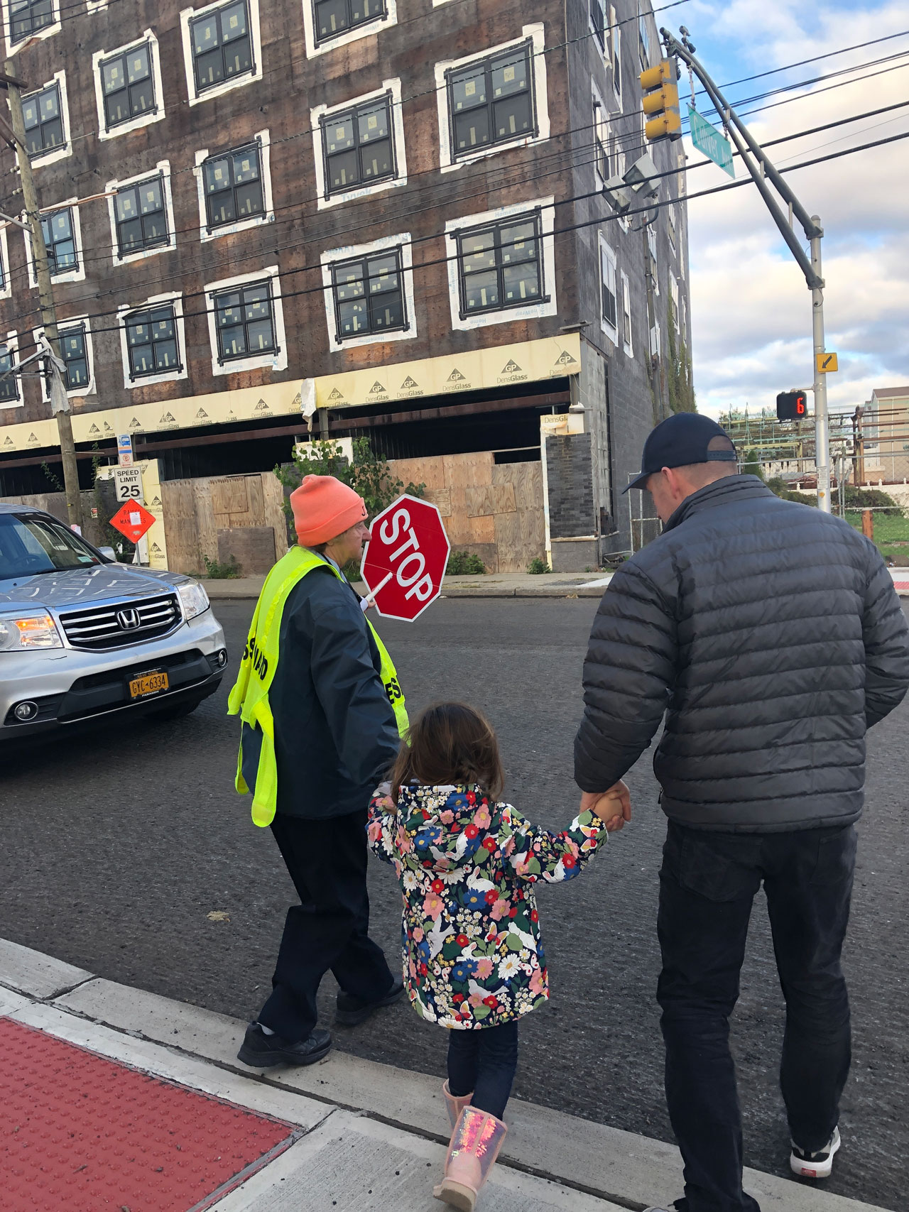 West Side Weekend Walk Crossing Guard Jersey City