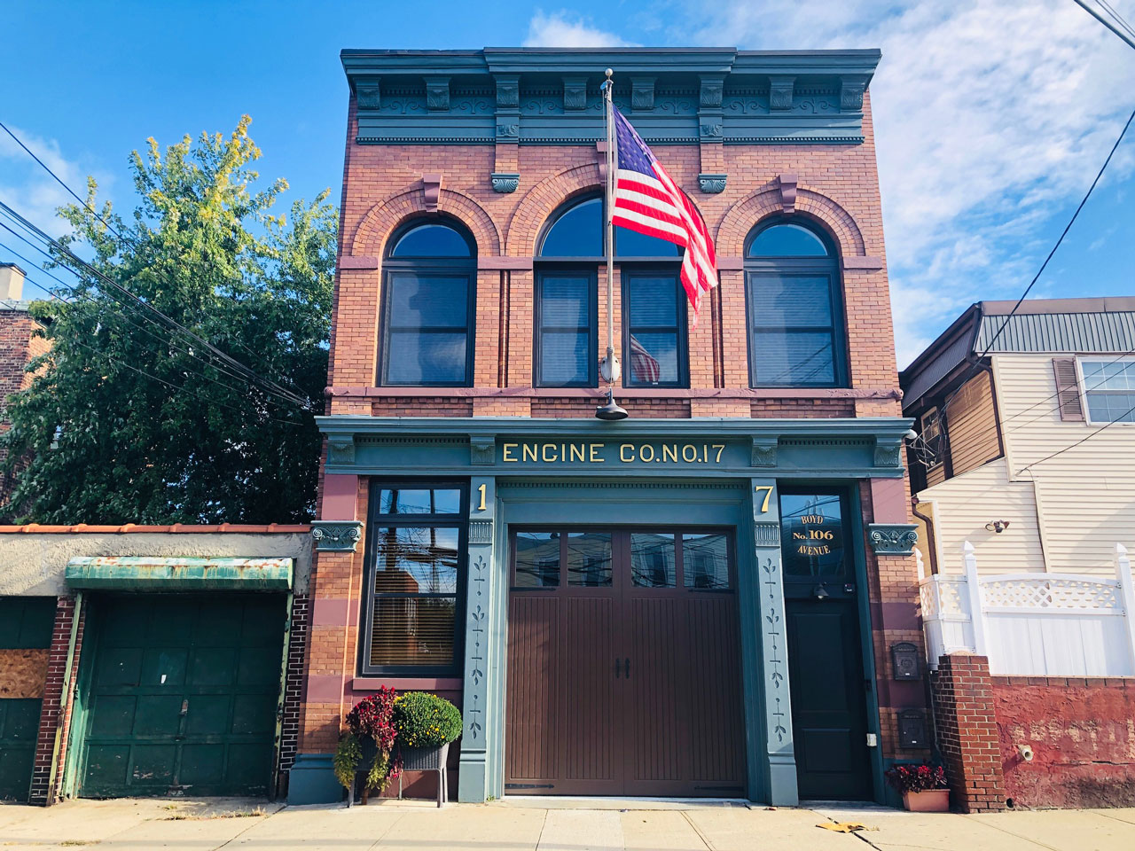 West Side Weekend Walk Firehouse On Boyd Jersey City