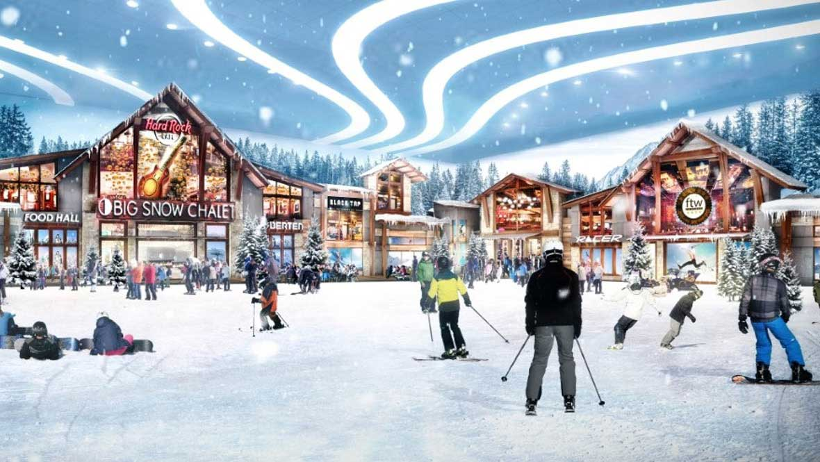 Big Snow Chalet Rendering American Dream
