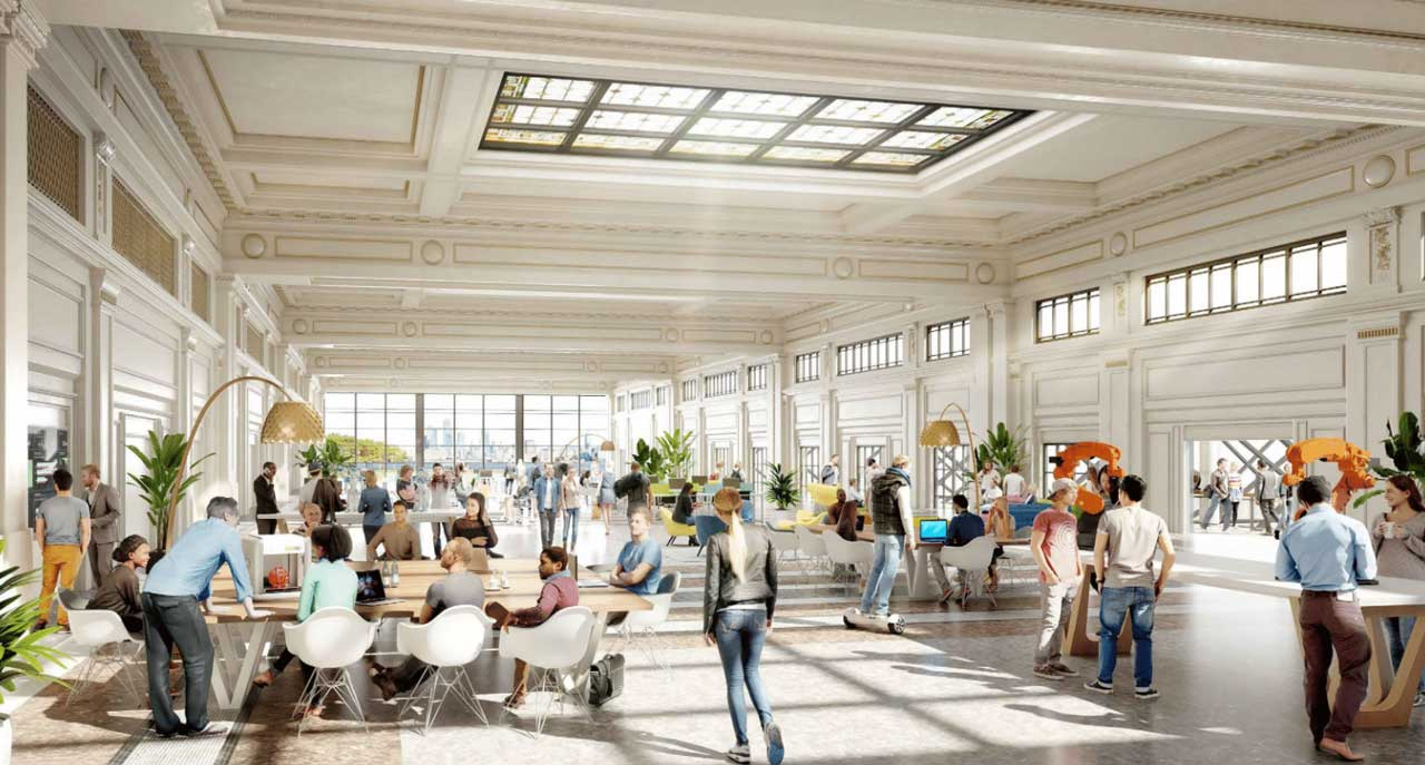 Hoboken Yard Redevelopment Plan Second Floor