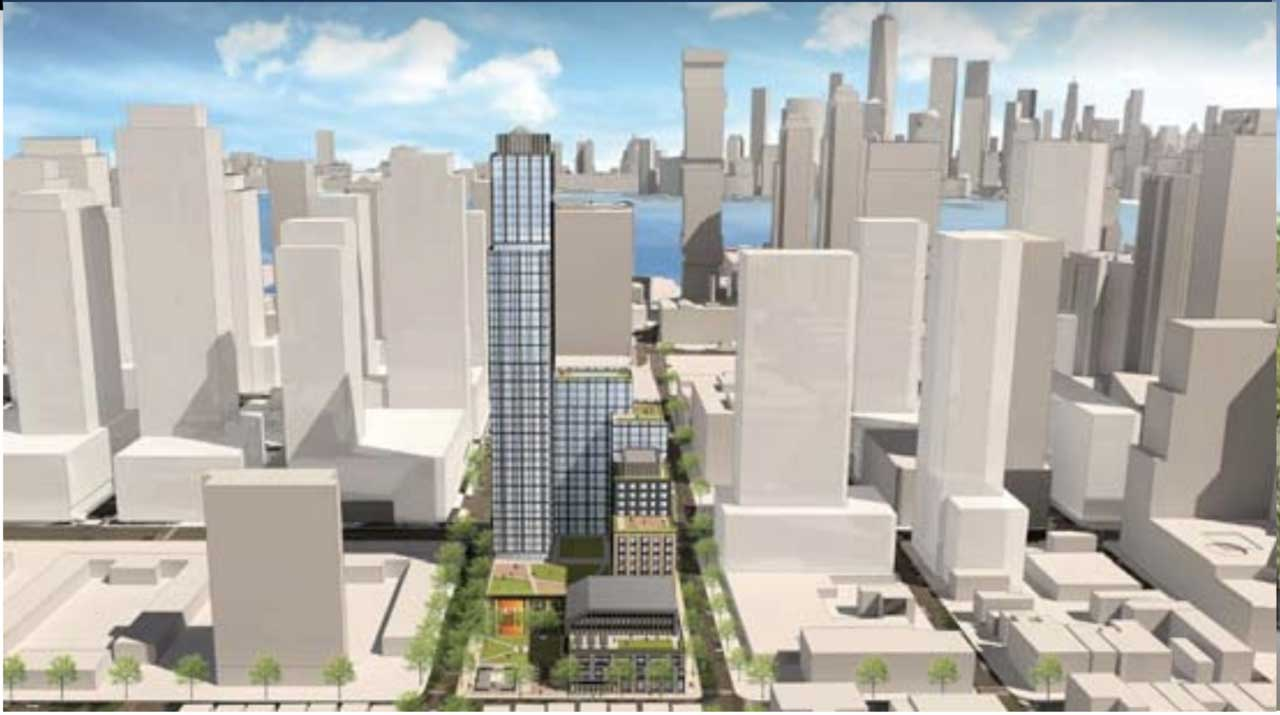 Laurel And Saddlewood Proposed Downtown Jersey City 1