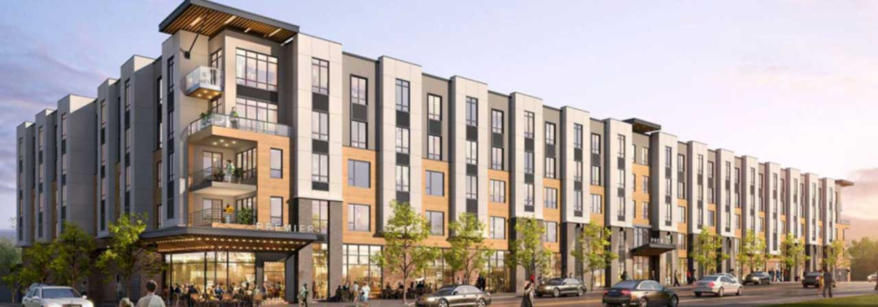 Washington Ave Apartments Rendering Belleville