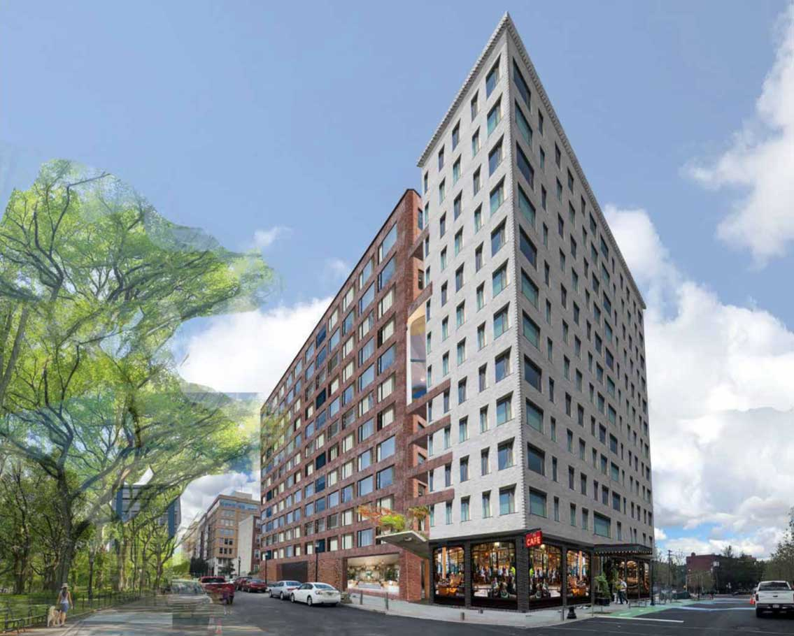 One Grove Rendering 221 Grove Street Jersey City