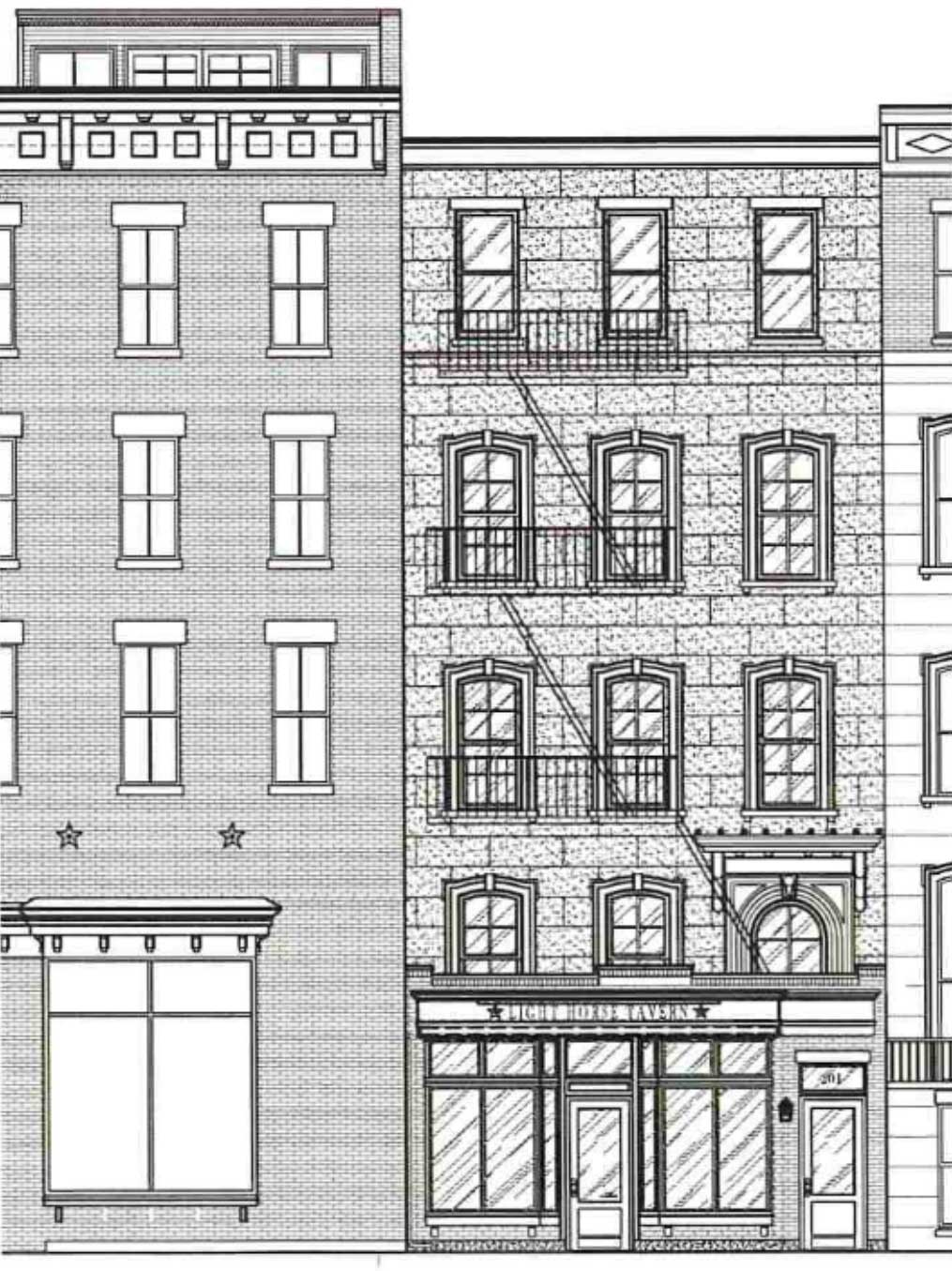 Light Horse Tavern Expansion Plans