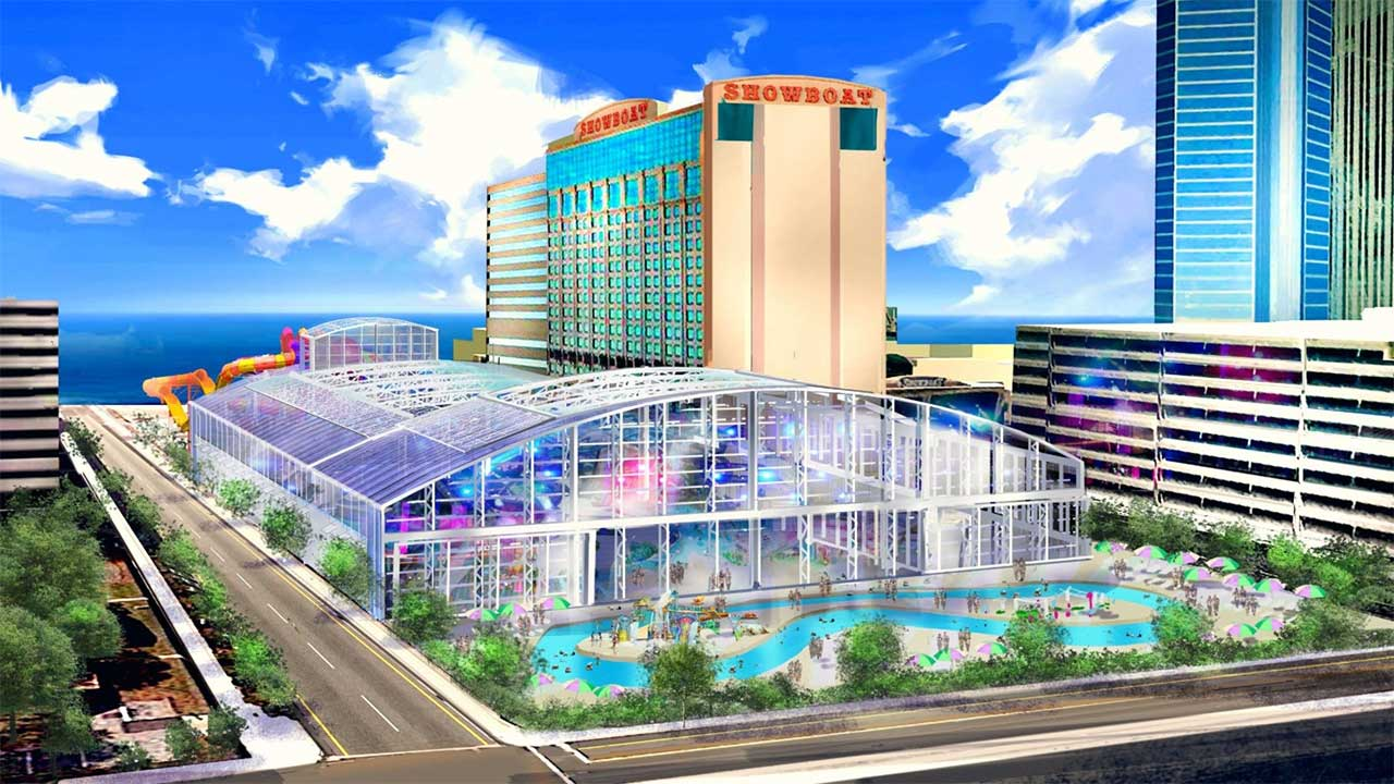 Showboat Waterpark Atlantic City New Rendering