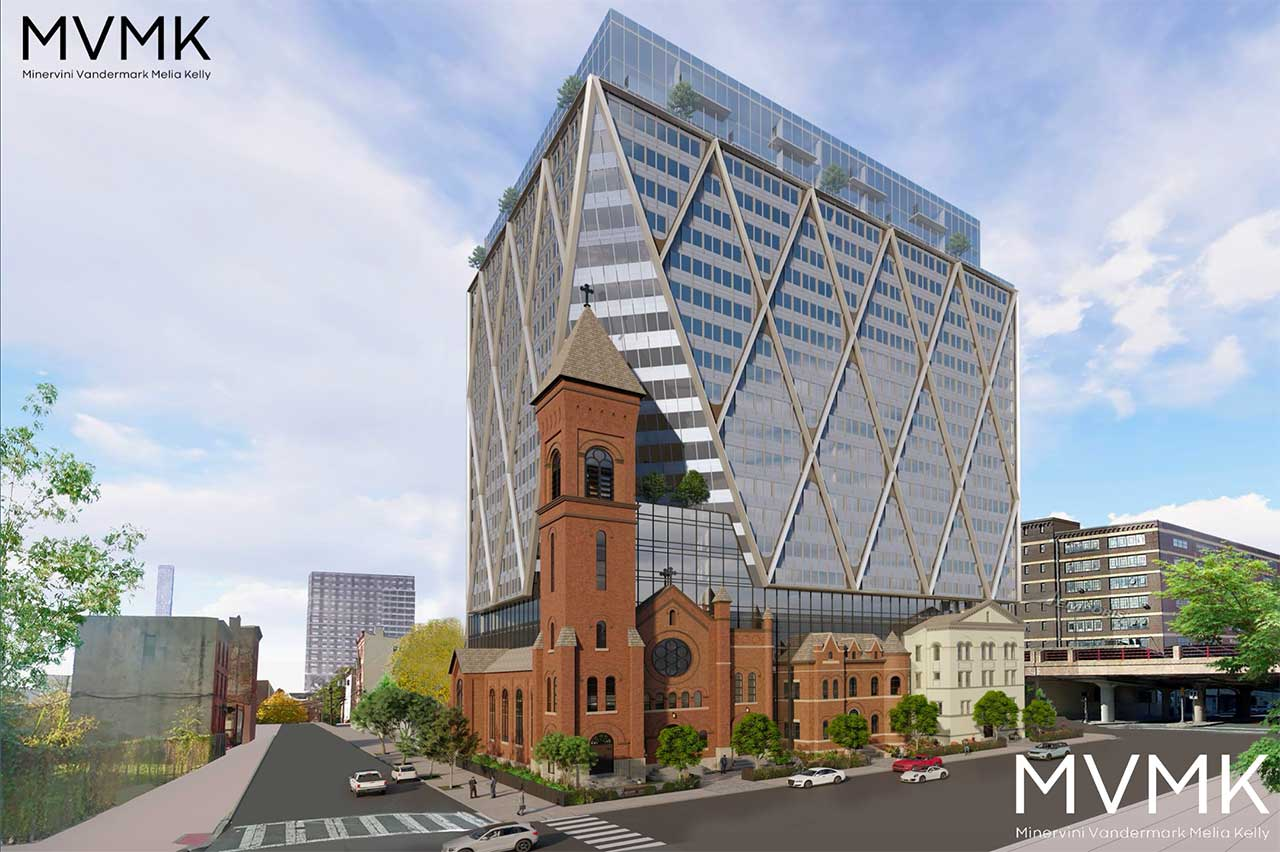 St Lucys Church 619 Grove Street Jersey City Development Rendering 2