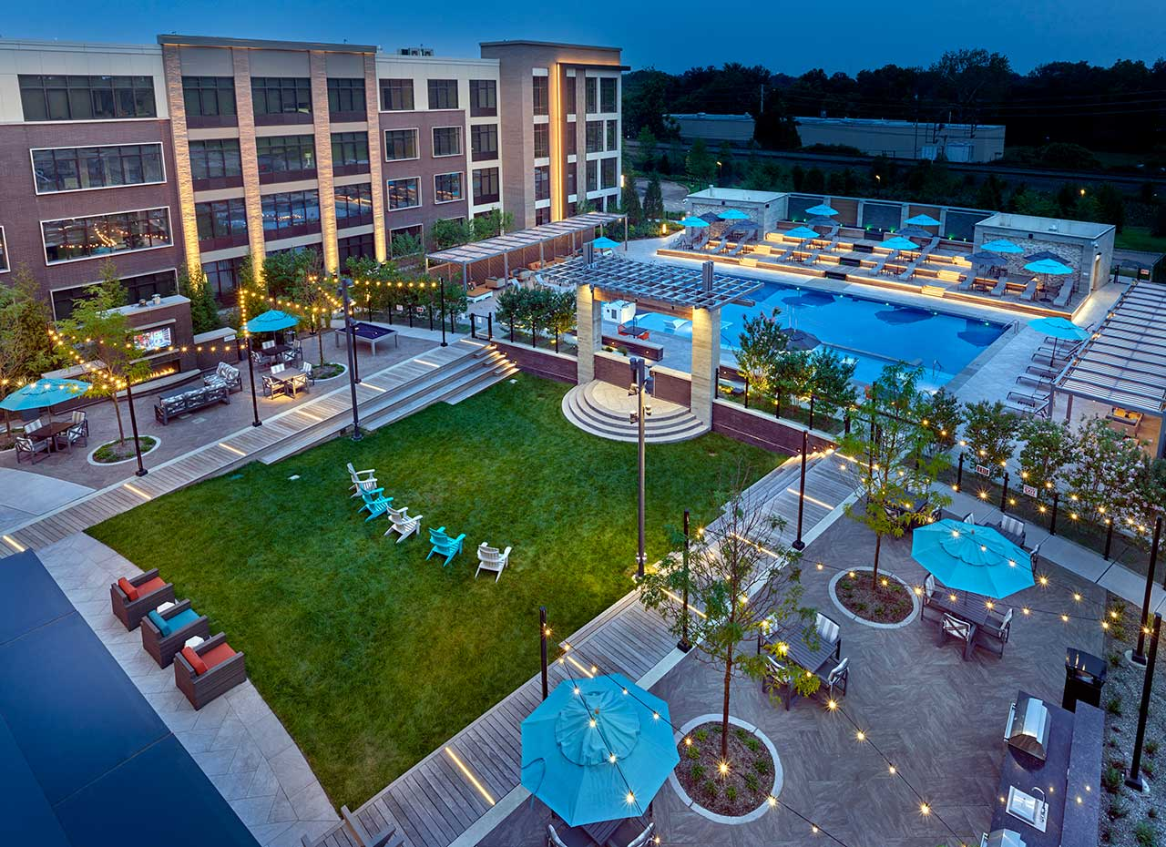 Vermella Union Apartments Outdoor Amenities 1