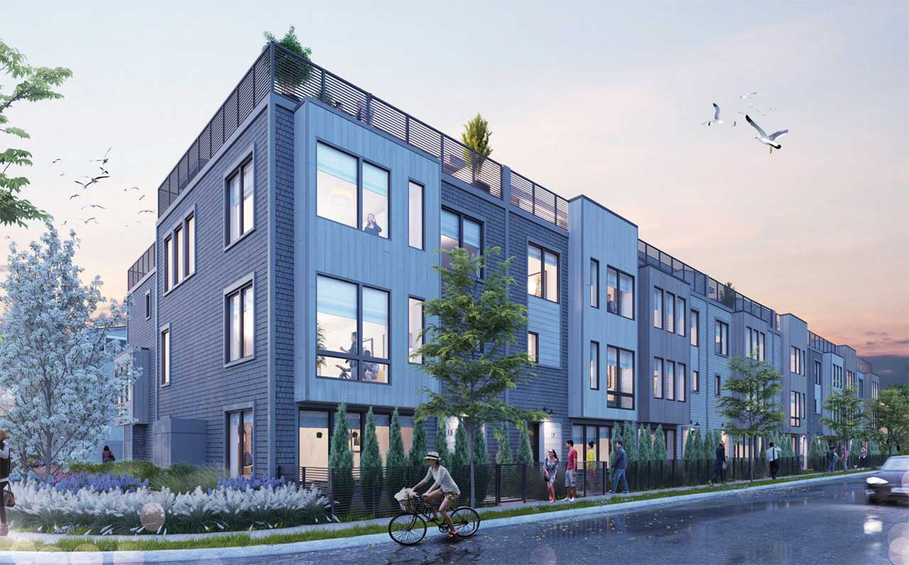 Asbury Park Ap Triangle Townhomes Rendering 3