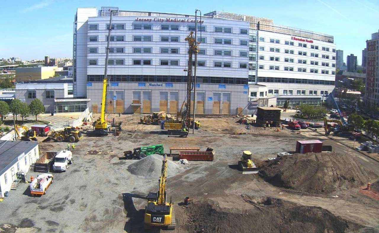 Jersey City Medical Center Construction