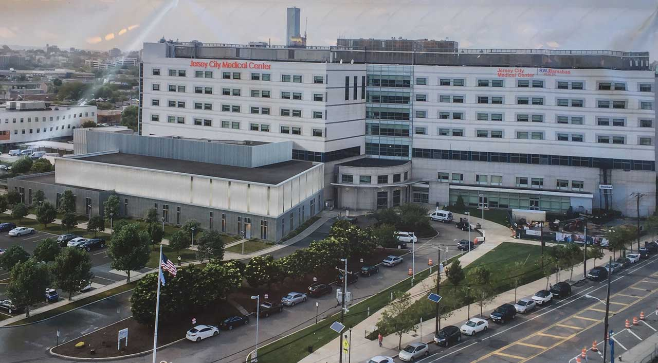 Jersey City Medical Center Rendering