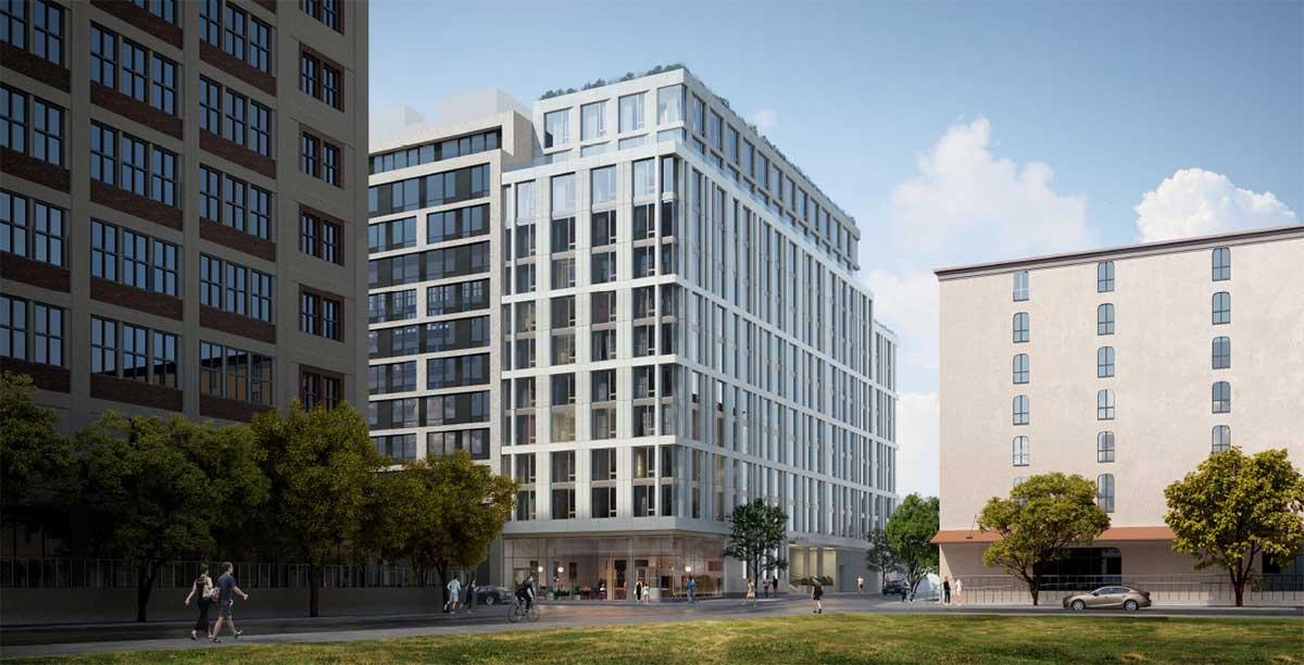 144 First Street Jersey City Development Rendering 2