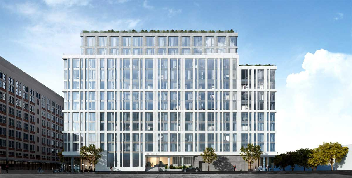 144 First Street Jersey City Development Rendering