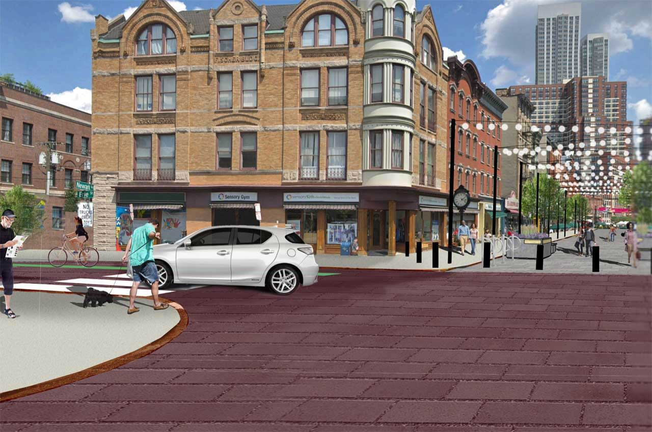Contract Awarded For Newark Avenue Pedestrian Plaza Renovation In Jersey City Jersey Digs