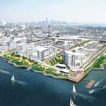 Bayfront Aerial Full Plan Jersey City