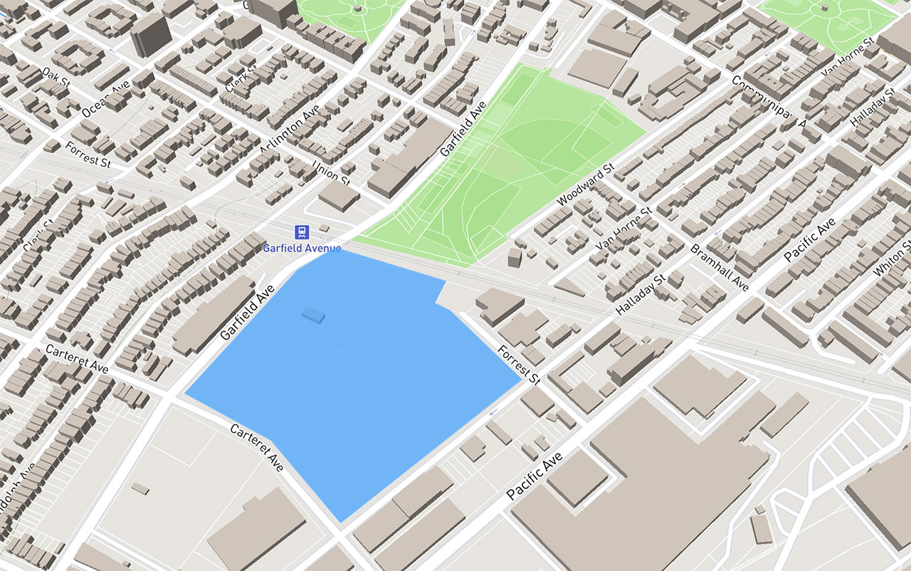 Canal Crossing Jersey City Map