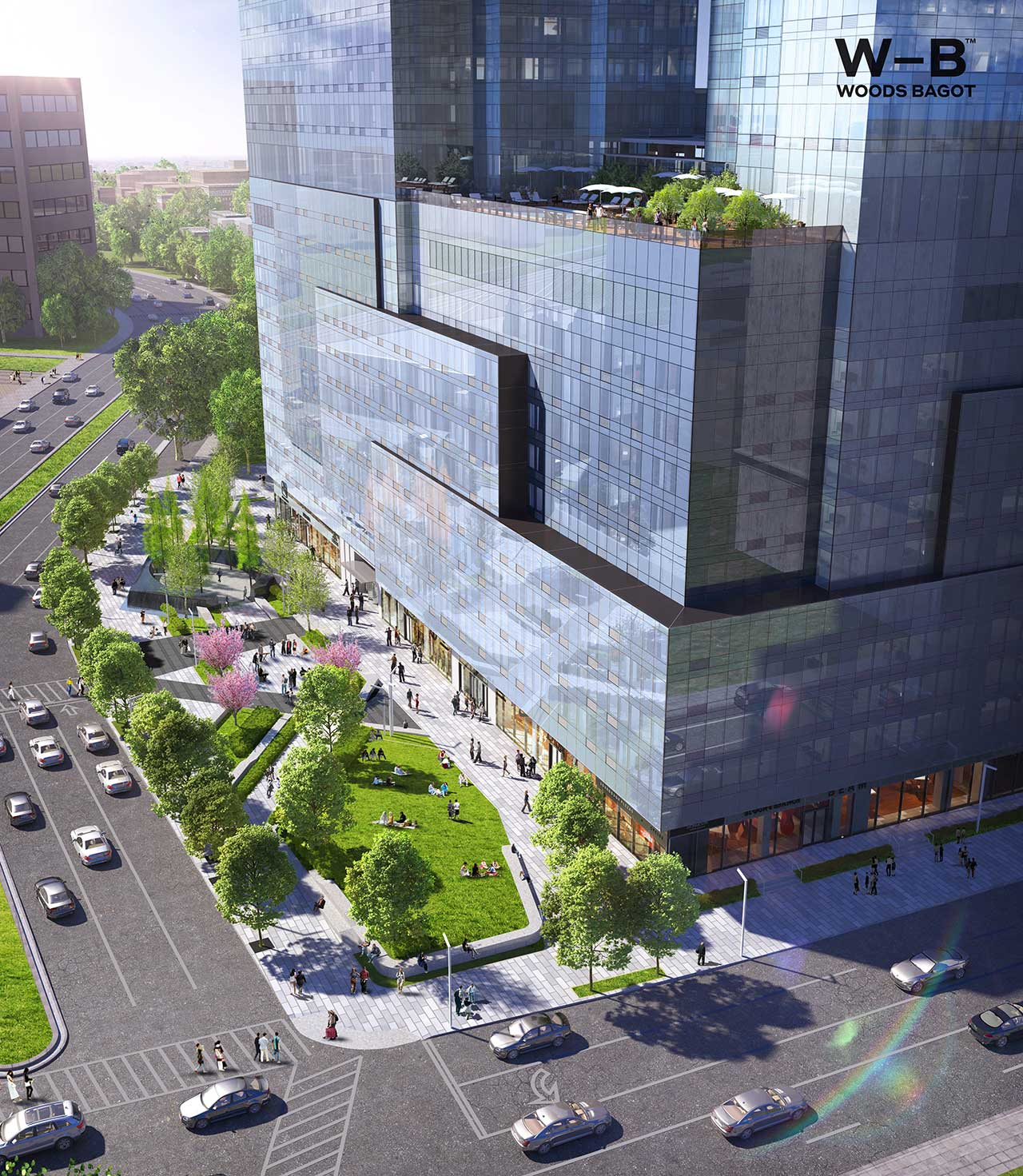 One Journal Square Jersey City New Rendering