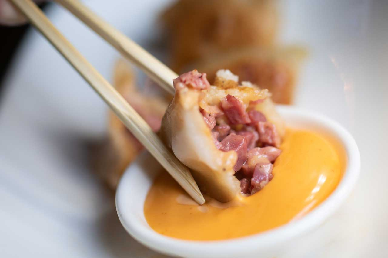 Brooklyn Dumpling Shop Opening Soon 514 Washington Street Hoboken French Pastrami Dumpling