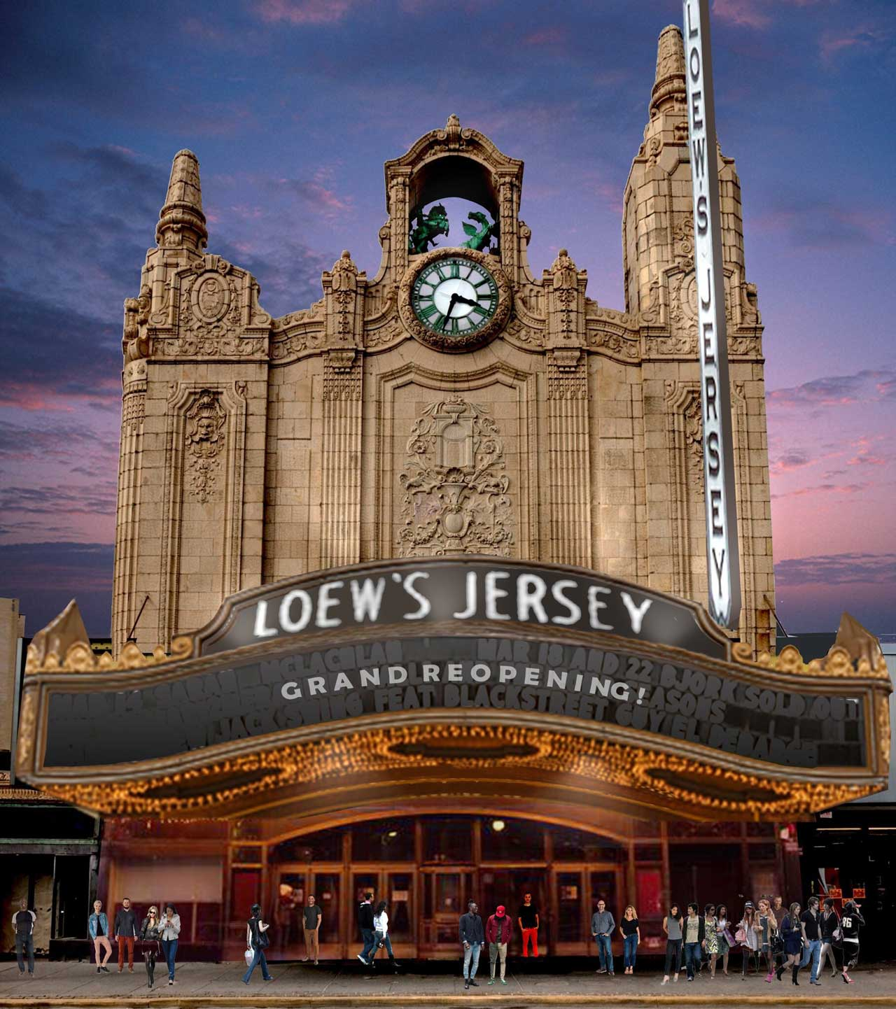 Loew's Jersey Theatre Journal Square Jersey City 1