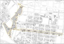 Sixth Street Embankment Study Area Map Jersey City