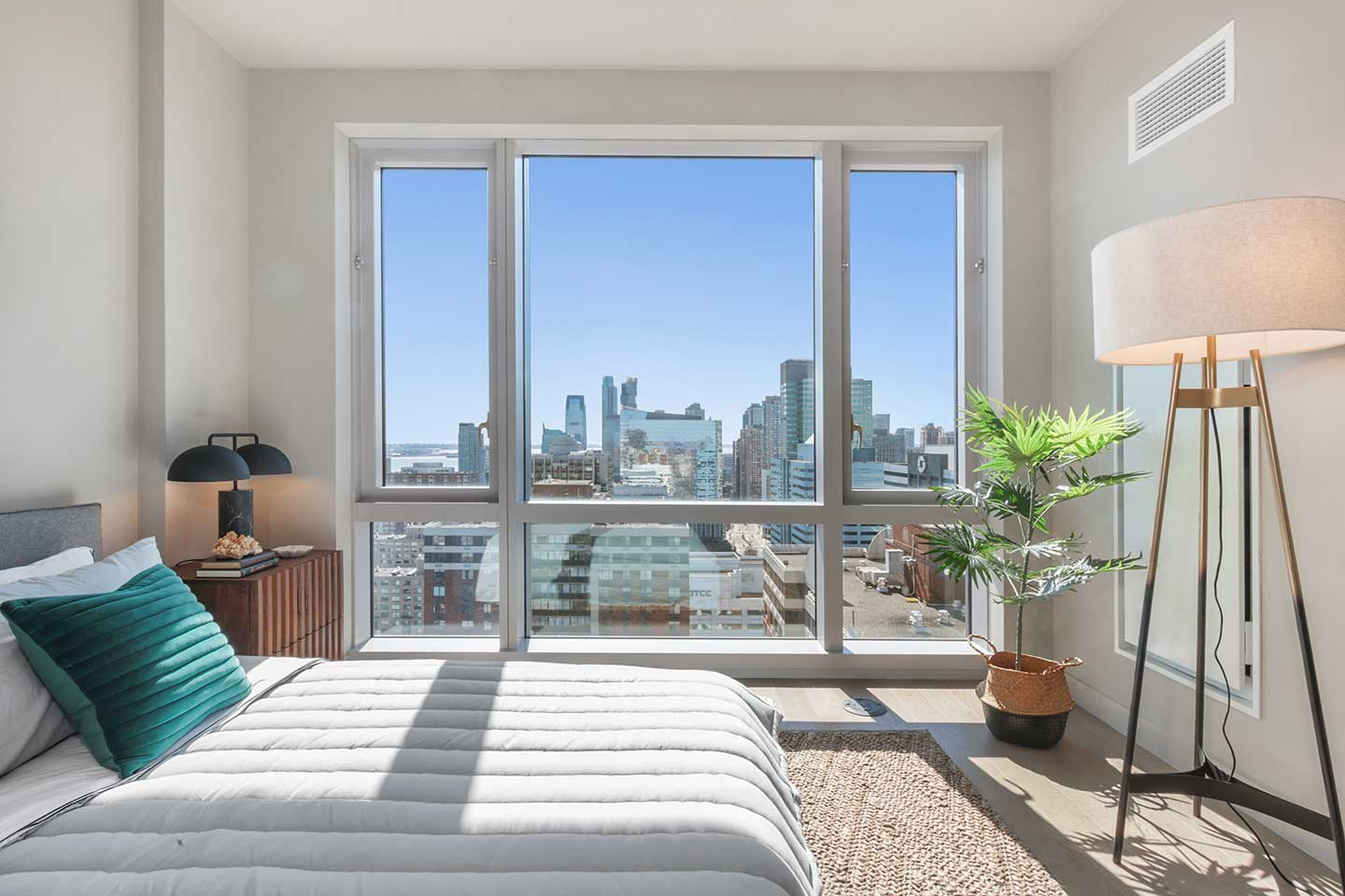 Park And Shore Condos For Sale Jersey City Bedroom