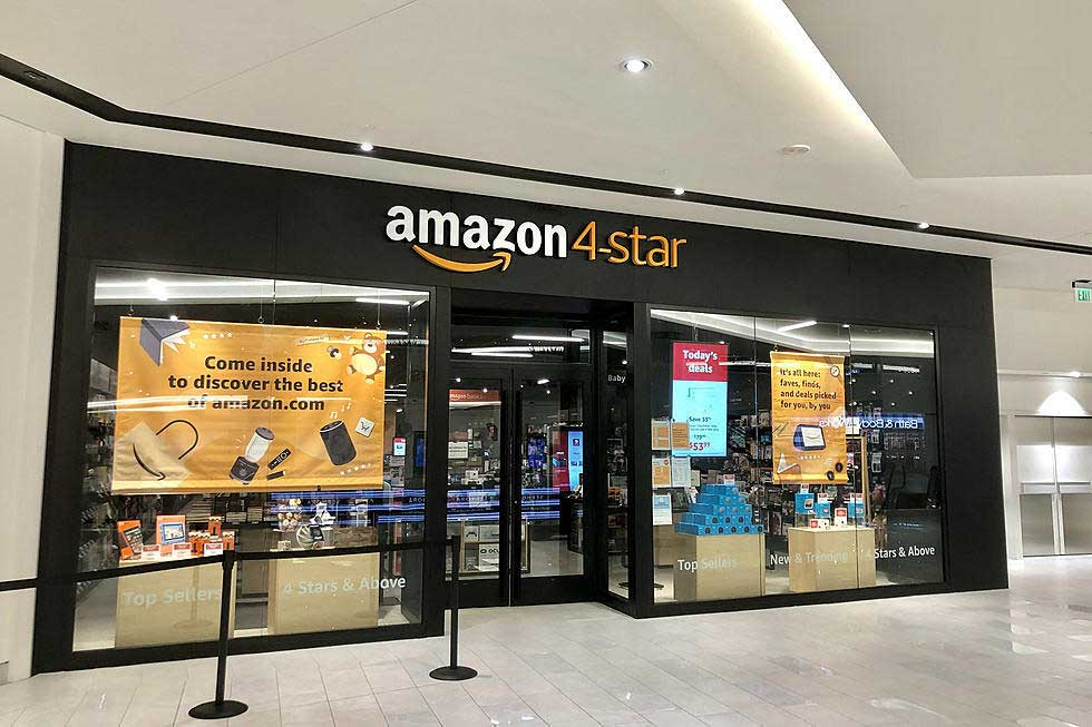 Amazon 4 Star Storefront American Dream Mall East Rutherford Nj