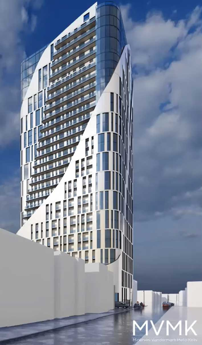 Journal Square Tower Mixed Use Development 2958 Jfk Blvd Jersey City Render 3