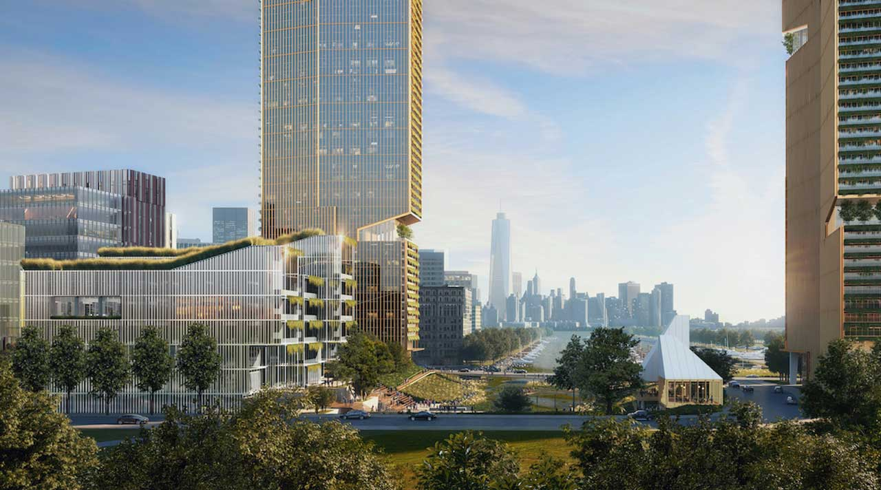The Cove Redevelopment Jersey City Tower Render 2